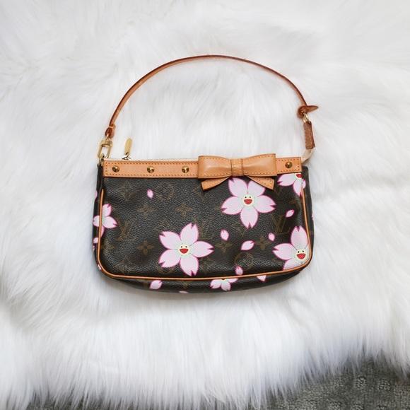 f6cf03e57fec Louis Vuitton Handbags - Louis Vuitton Cherry Blossom Brown Pochette